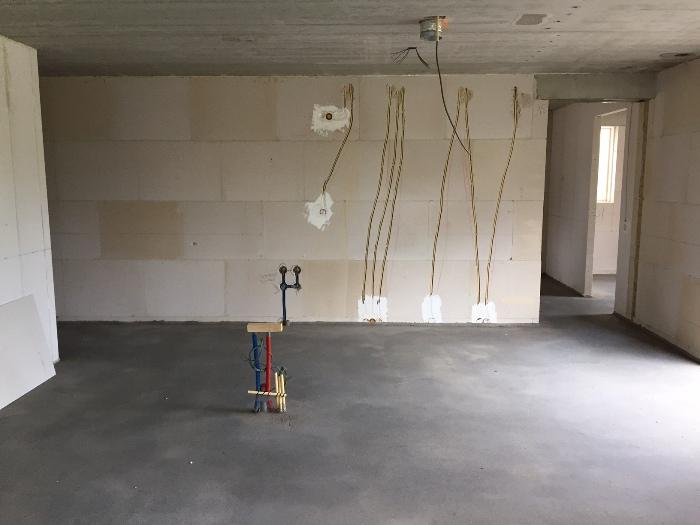 De nieuwe keuken wordt geplaatst in een nieuwbouw woning in Middelburg.